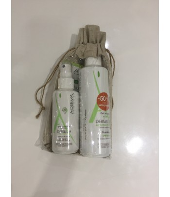 Pack CYTELIUM SPRAY ASSÉCHANT + DERMALIBOUR + GEL MOUSSANT - 50 %