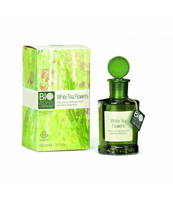 Monotheme White Tea Flowers Eau de Toilette Certifiée Bio 100 ml