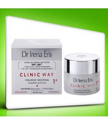 Dr Irena Eris Clinic Way Hyaluronic Smoothing 1° DAY
