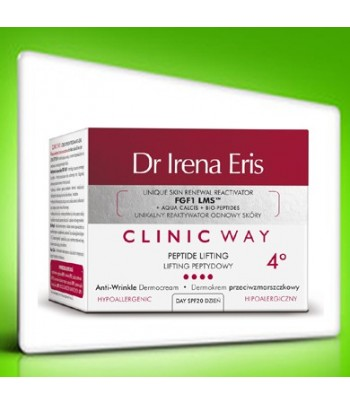 Dr Irena Eris Clinic Way PEPTIDE LIFTING DAY 4°