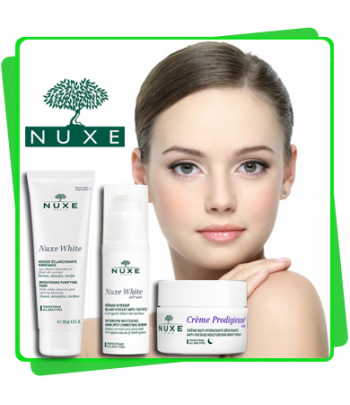 NUXE Coffret MY RADIANCE ROUTINE Crème + Mousse +  Sérum Intensif