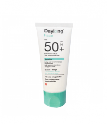 Daylong Face Sensitive Gel-Fluide Léger SPF50+ Très Haute Protection 50ml