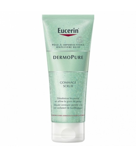EUCERIN DERMOPURE GOMMAGE PEAUX A IMPERFECTIONS