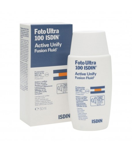 Foto Ultra 100 ISDIN Active Unify Fusion Fluide