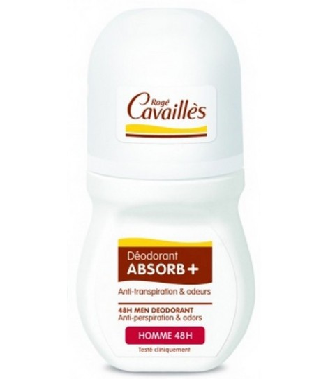 DÉO ABSORB+ HOMME 48H ROLL-ON